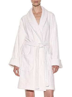 Aegean Apparel Women's Solid Terry Loop Robe 36