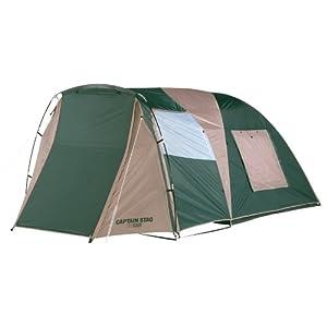 CAPTAIN STAG テント ツールームドーム キャリーバッグ付 [3-4人用] M-3133