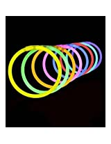 300 Lumistick 8 Glow Stick Glow Bracelets - Assorted Color Mix