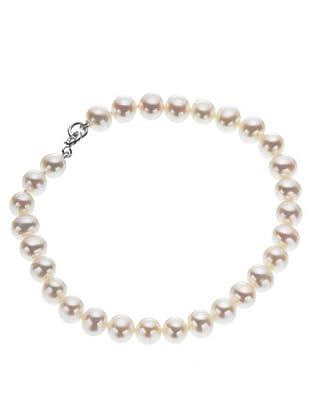 Le Perle di Emi Kaway Bracciale Oro Bianco 18k Perle 6,50-7 mm