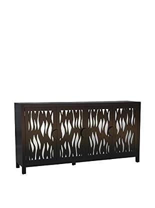 Jeffan Aries Mirrored Sideboard, Black