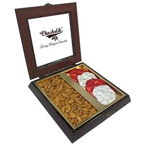 Unique Gift with Almonds & Belgium Chocolate Rocks - Chocholik Premium Gifts