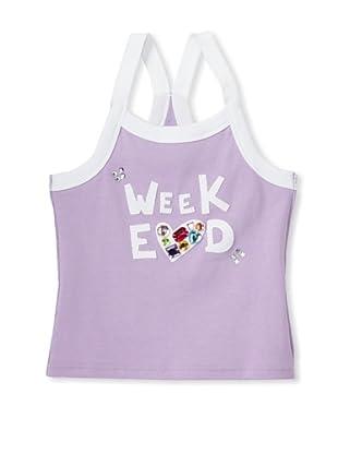 Sonia Rykiel Girl's Weekend Racerback Tank (Purple)