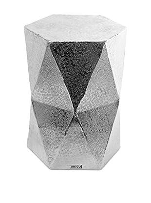 Glam Home Pouf Diamond metallic