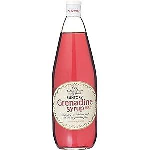 【クリックで詳細表示】サントリー・グレナデン・シロップ 780ml ×1本: 食品・飲料・お酒 通販