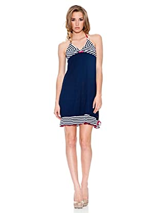 Fornarina Vestido Droppy (Azul)