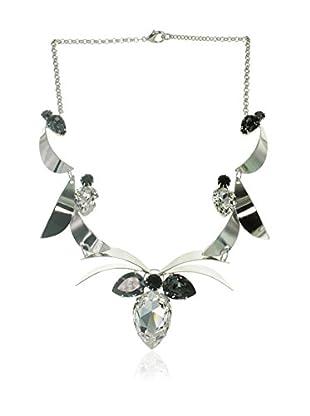Crystal from Swarovski Gargantilla Plateado