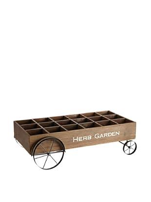 Napa Home & Garden Decorative Herb Cart (Brown)