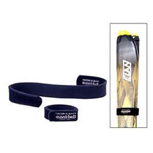 【クリックで詳細表示】モンベル(mont-bell) ネオプレンバンドルストラップ30×400 1124183 ブラック: スポーツ&アウトドア