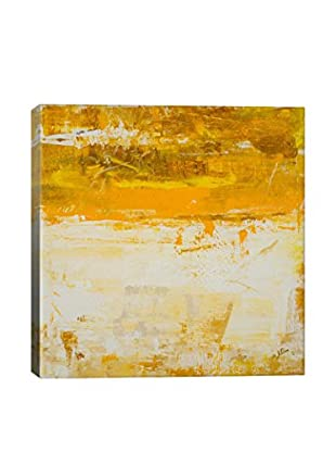 Julian Spencer Yellow Field Gallery-Wrapped Canvas Print