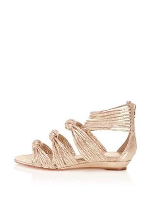 Loeffler Randall Women's Enid Sandal (Gold Metallic)