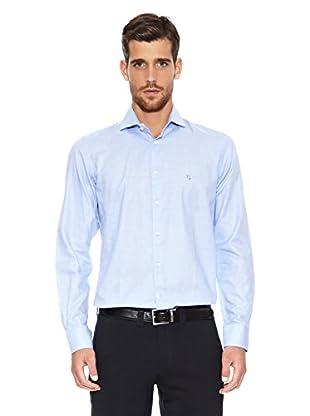 Caramelo Camisa Virgile (Azul Claro)