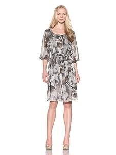 Ellen Tracy Women's Poet's Tunic Dress (Mink)