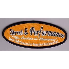 【クリックで詳細表示】Amazon.co.jp | アメカジ『Street&Performance』ワッペン(PATCH)/アメリカン雑貨 | おもちゃ 通販