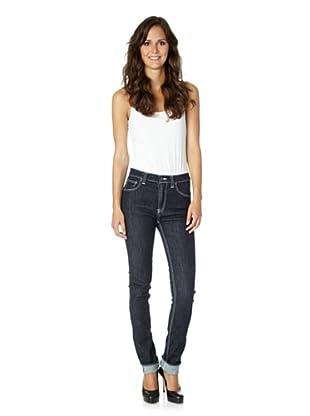 Nudie Jeans Co Jeans High Kai Organic Rinsed (Blau)