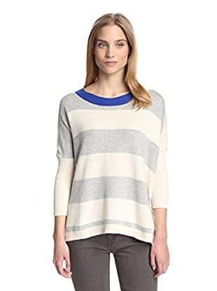 Central Park West Women's Striped Tunic Sweater