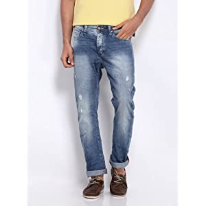 Being Human Clothing Men Blue Jeans