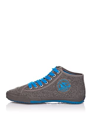Shulong Zapatillas Shuwool High (Gris / Azul)