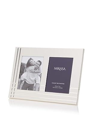 Mikasa Avenue Collection Silver Invitation Picture Frame