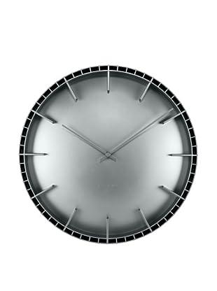 Leff Amsterdam Dome Wall Clock, Grey
