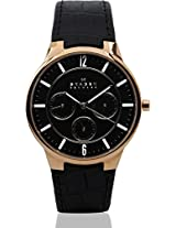 Skagen Analog Watch - For Men - Black - 331XLRLB