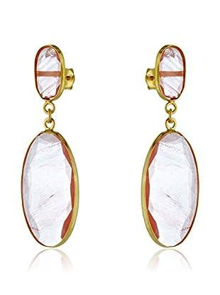 Silver Luxe Orecchini argento 925 bagnato oro