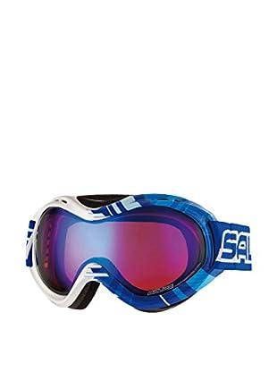 salice occhiali Maschera Da Sci 800Darws Blu/Bianco
