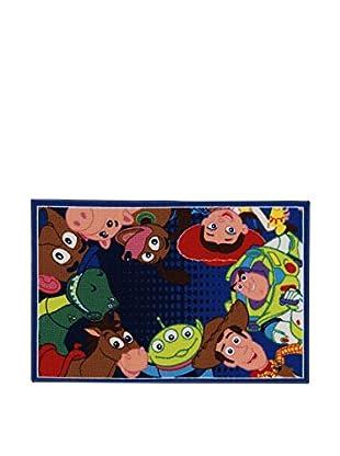 Disney Teppich Disney A.L. Toy Story Ts06 mehrfarbig 80 x 120 cm