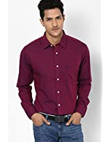 Purple Full Sleeves Casual Shirts Allen Solly