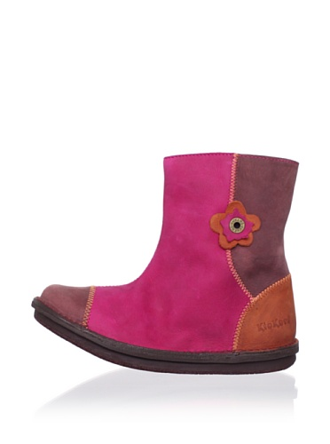 Kickers Kid's Pikpik Boot (Toddler/Little Kid/Big Kid) (Fuchsia/Burgundy)