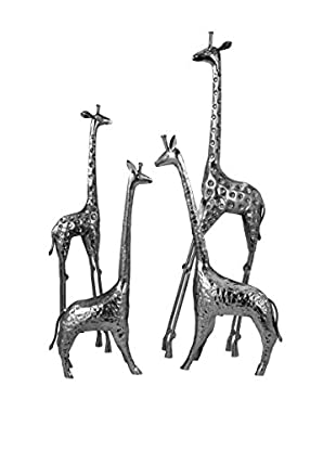 Set of 4 Safari Giraffes