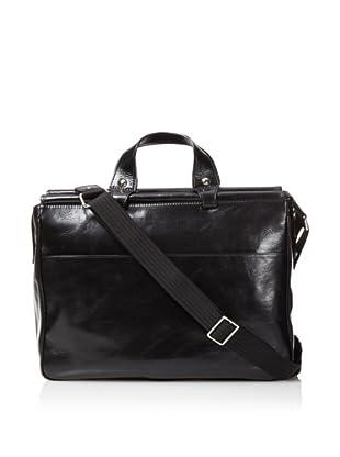 Bosca Men's Dowel Bag (Black)