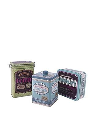Molecuisine Set Caja 3 Uds. Vintage Multicolor