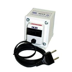 【クリックで詳細表示】日章工業 トランスフォーマSKシリーズ(電圧アップ・ダウン両用タイプ)AC240V⇔AC100V60W SK-60EX: ホーム&キッチン