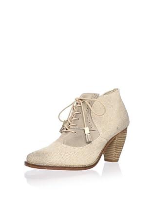J. Shoes Women's Sidesaddle Bootie (Natural/Milkshake)