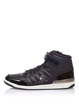 Le Coq Sportif High Top Sneaker Retro Sport Diamond Lea (Schwarz)