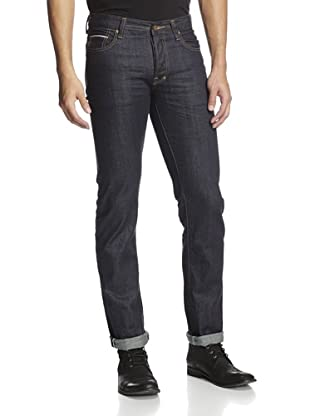 PRPS Men's Rambler Skinny Raw Selvedge Jean (Indigo Resin)