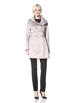 Tahari Women's Anya Double-Breasted Jacket (Taupe)