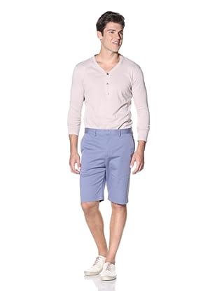 Slate & Stone Men's Buio Flat-Front Short (Blue)