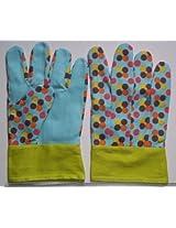 Zero Shop(Tm) 2 Pairs Kids Garden Gloves Bright Middle(Random Color)