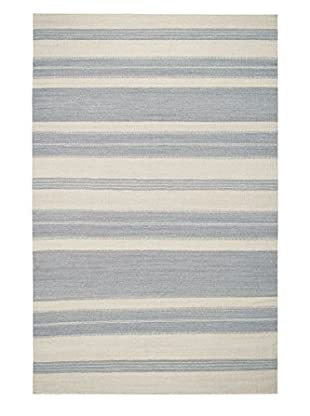 Genevieve Gorder Jagges Stripe Rectangle Flat Woven Rug