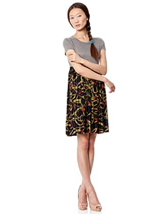 Custo Vestido Kai Lan (negro / gris)