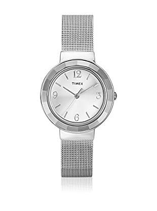 TIMEX Reloj de cuarzo Woman T2P196 Plateado 31 mm