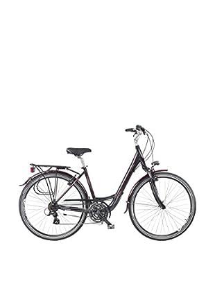 Fausto Coppi Bicicleta Trekking Aluminum Assolo Negro
