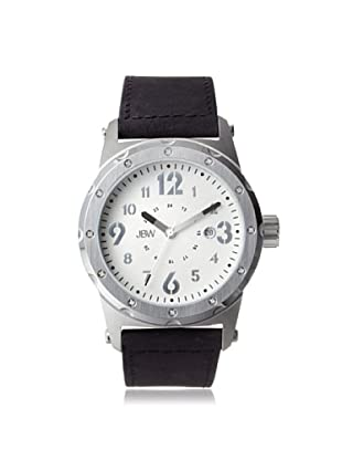 JBW Men's J6284E Black/Silver Stainless Steel Watch