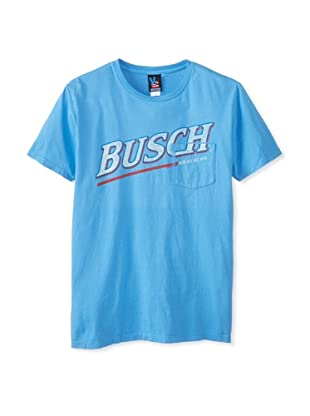 Junk Food Men's Busch Short Sleeve Tee (Lake Blue)