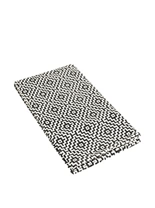 Glam Home Teppich Niki grau/weiß