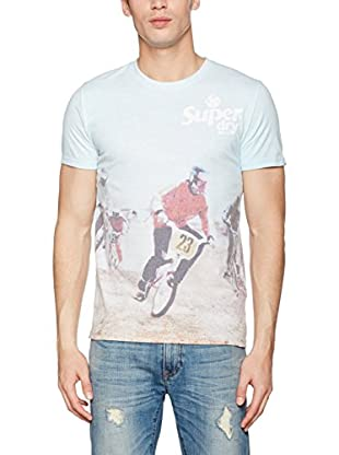 Superdry T-Shirt Manica Corta Sports Aop