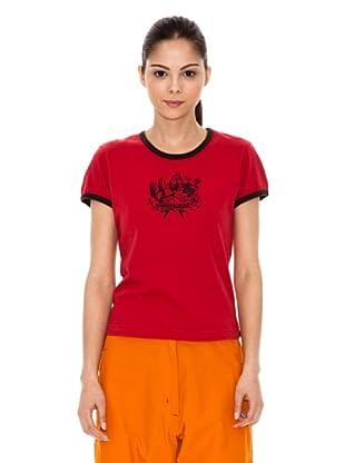 Iguana T-Shirt Axe (Rot)