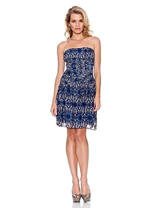 Guess Vestido Elástico (Azul Índigo)